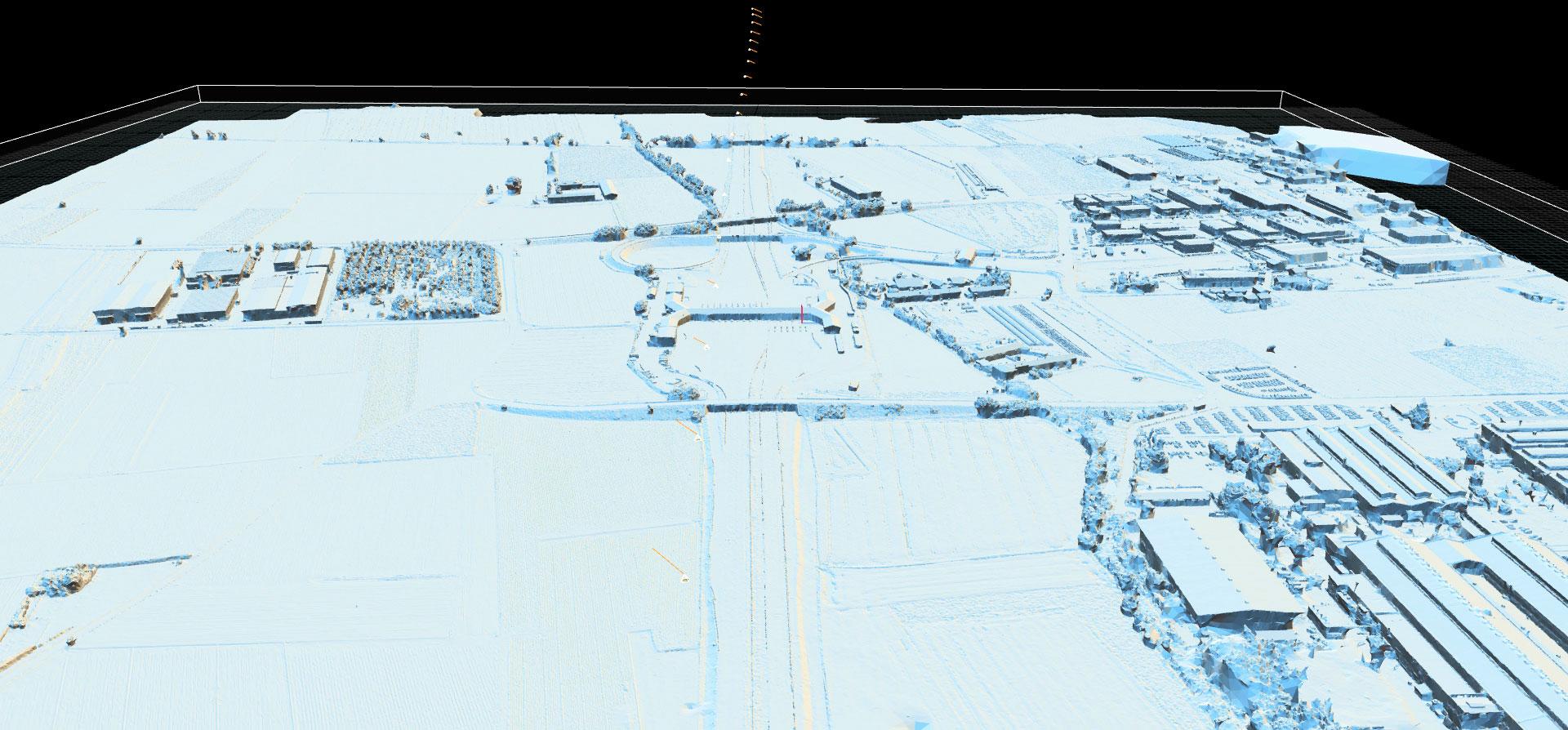 Carmagnola Highway Exit, 3D model